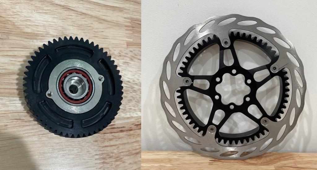 Bimotal gears