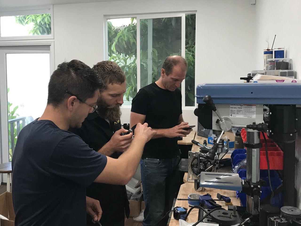 Bimotal engineers in assembly mode